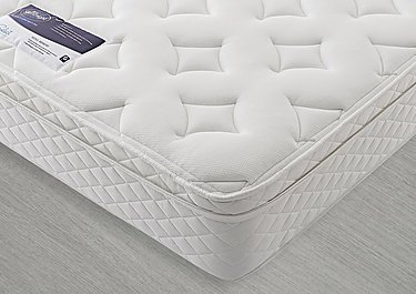 Miracoil Serenity Memory Cushion Top Mattress in  on FV