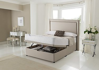 Miracoil Serenity Ortho Half Ottoman Divan Set in  on FV
