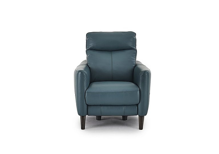 Compact Collection Petit Leather Recliner Armchair in  on FV