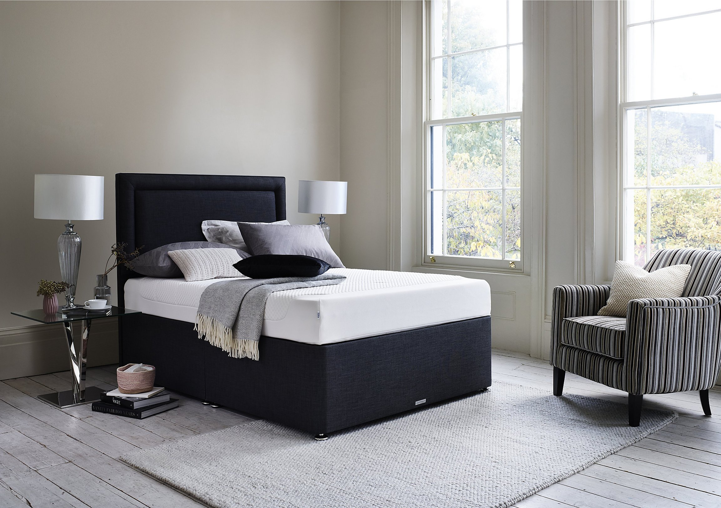 Lifestyle Solutions Bedroom Furniture Solutions Side Lift Ottoman Bed Frame Furniture Village
