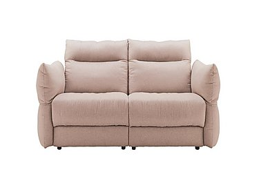 Tess 2 Seater Fabric Sofa in C243 Brush Rose on FV