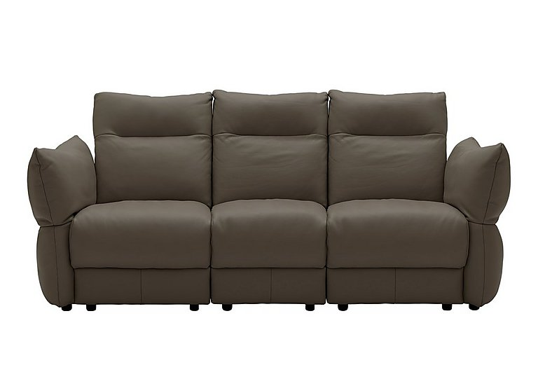 Tess 3 Seater Leather Sofa