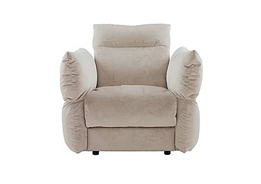 Tess Fabric Armchair in B041 Touch Cygnet on Furniture Village