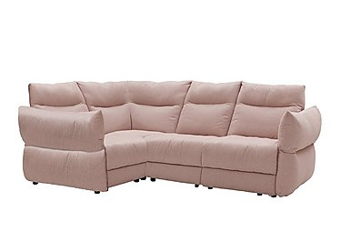 Tess Fabric Corner Sofa in C243 Brush Rose on FV