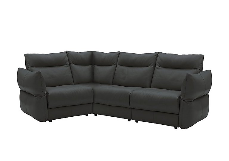 Tess Leather Corner Sofa