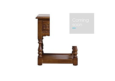 Old Charm Lamp Table in Light Oak Traditional on FV