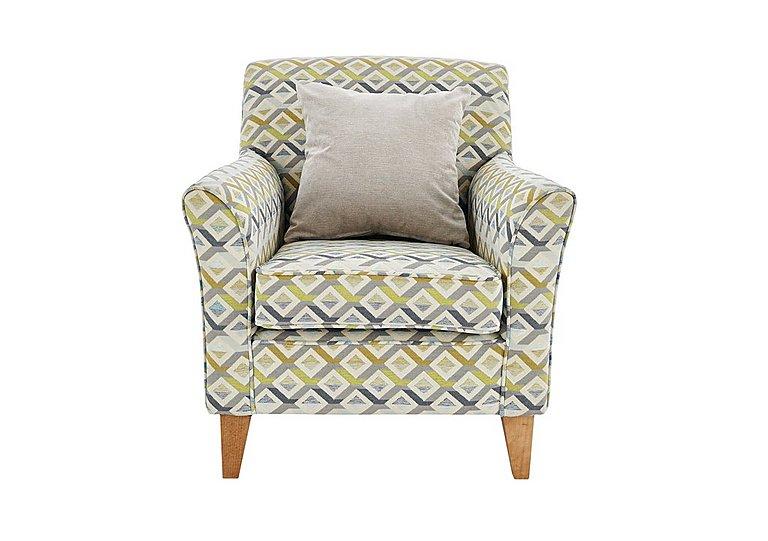 Copenhagen Fabric Accent Armchair - Only One Left!