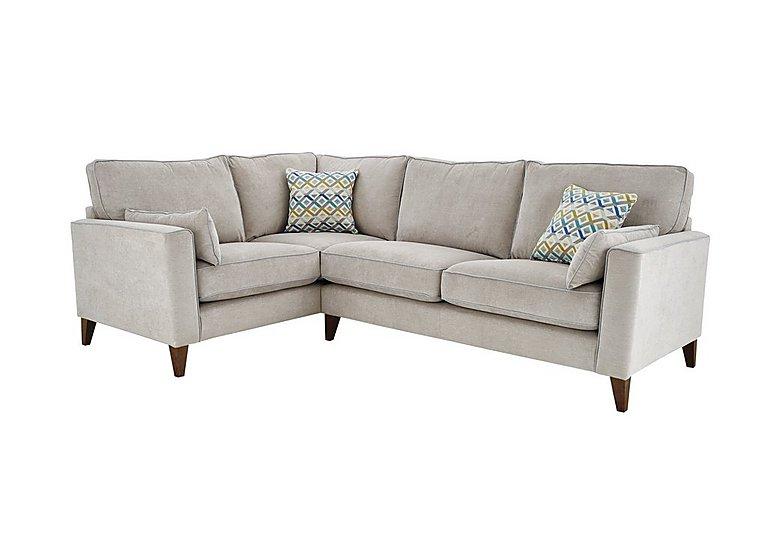 Copenhagen Fabric Left Hand Facing Corner Sofa - Only One Left!