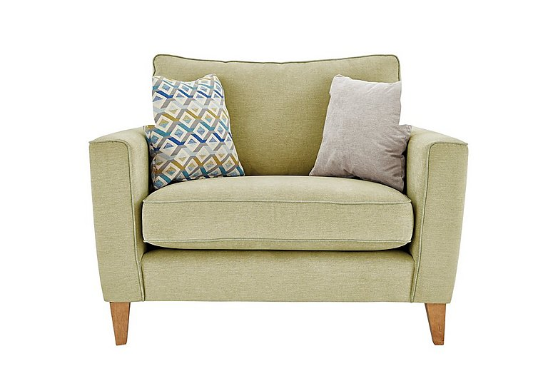 Copenhagen Fabric Snuggler Armchair - Only One Left!