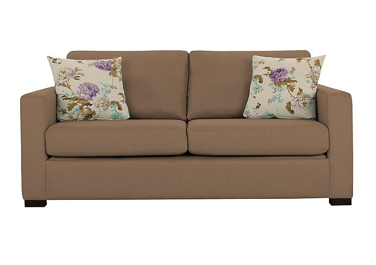 Petra 3 Seater Deluxe Fabric Sofa Bed - Only One Left!