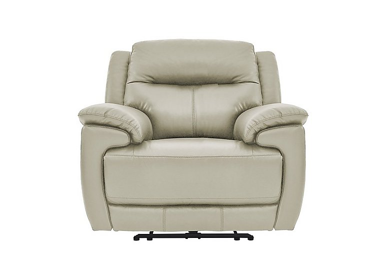 Touch Leather Power Recliner Armchair - Only One Left!