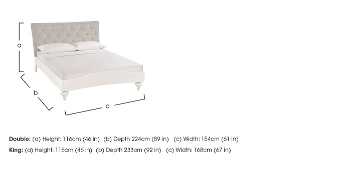 Annecy Bed Frame in  on Furniture Village