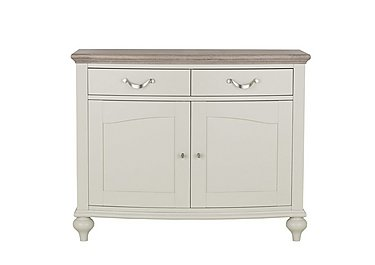 Annecy Narrow Sideboard in Grey Washed Oak And Soft Grey on FV