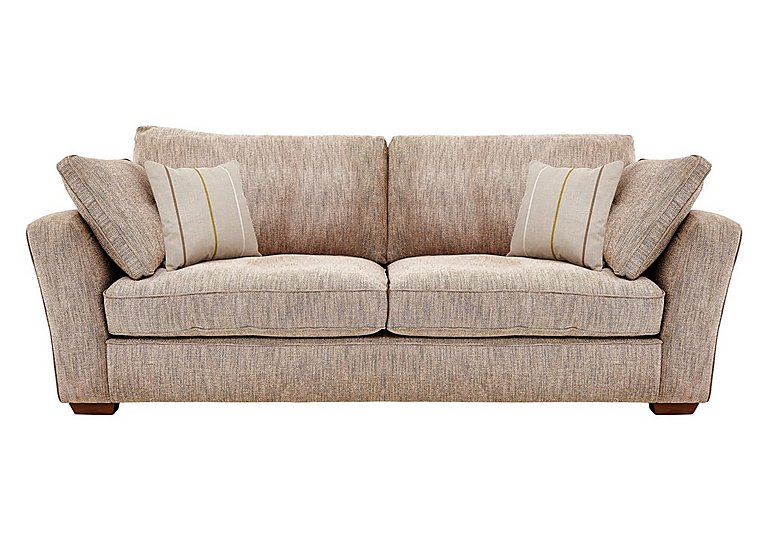 Otto 3 Seater Fabric Sofa - Only One Left!