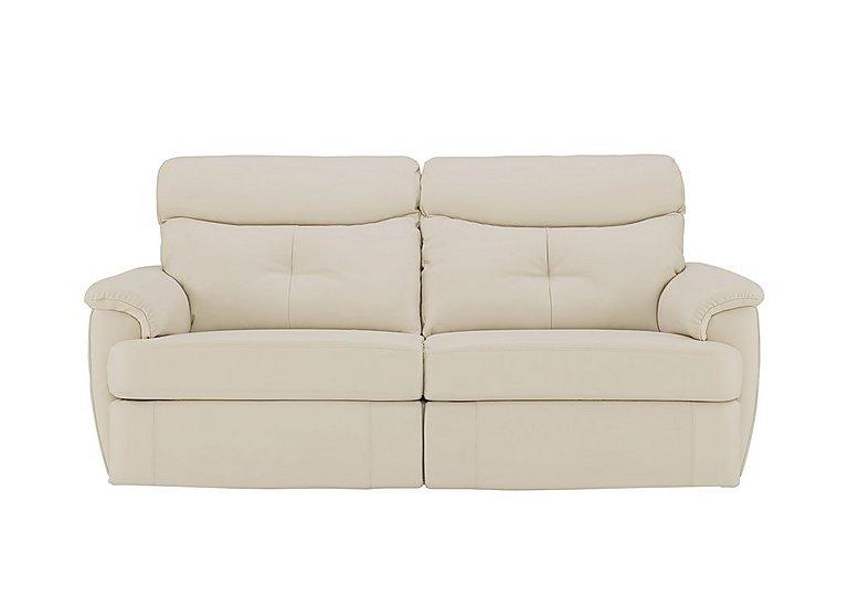 Furniture Village Atlanta atlanta 3 seater leather recliner sofa - g plan - furniture village
