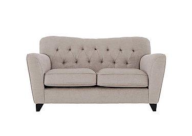 Viola 2 Seater Fabric Sofa in Pharaoh Mink Dark Antique on FV