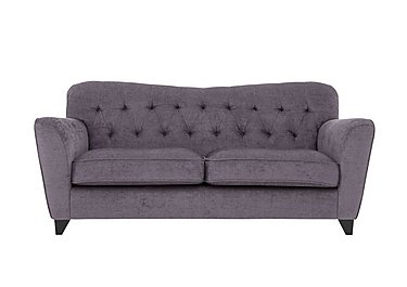 Viola 3 Seater Fabric Sofa in Pharaoh Plum Dark Antique on FV