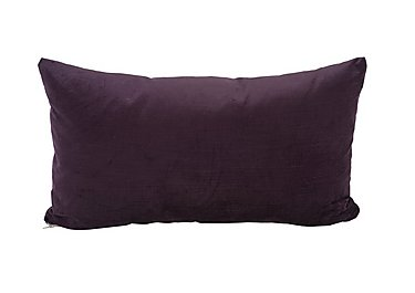 Viola Fabric Bolster Cushion in Roylaty Plum on Furniture Village