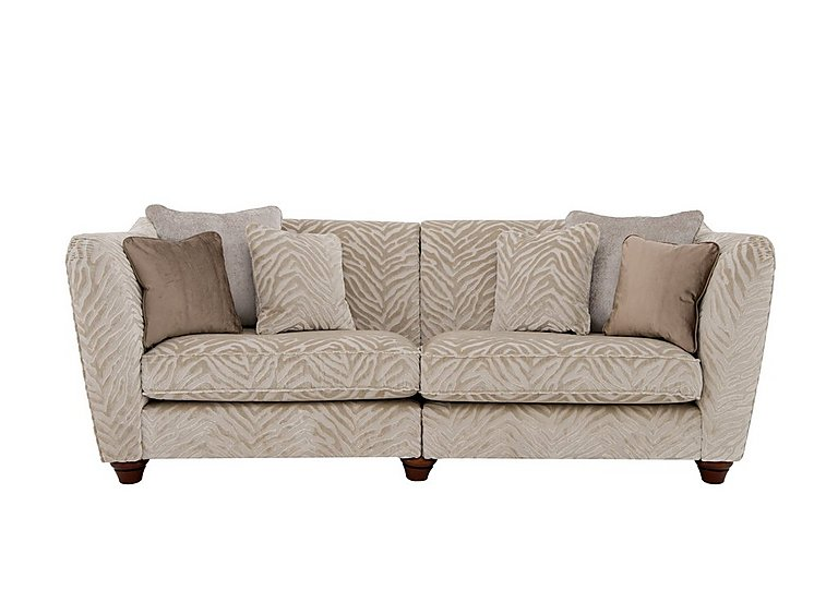 The Hollywood Collection Marilyn 4 Seater Fabric Sofa