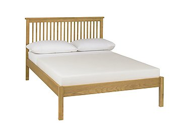 Eva Low Footend Bed Frame in Oak on Furniture Village