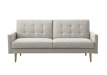 Sacha Fabric Sofa Bed in Linen on FV