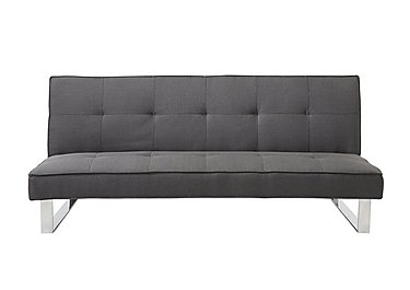 Noelle Fabric Sofa Bed in Charcoal on FV
