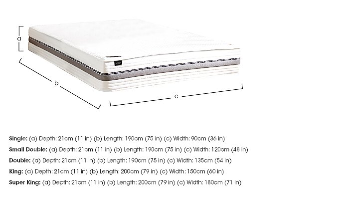 Prestige Indulgence 270 Mattress in  on Furniture Village