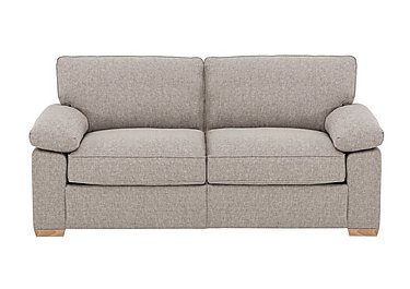 The Weekender Drift 3 Seater Fabric Sofa Bed in Alfa Natural Lt on FV