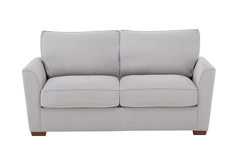 The Weekender Fable 2 Seater Deluxe Fabric Sofa Bed in Cosmo Silver Dk on Furniture Village
