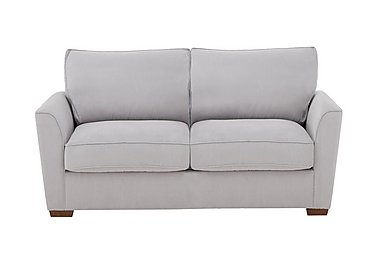The Weekender Fable 2 Seater Fabric Sofa Bed in Cosmo Silver Dk on FV