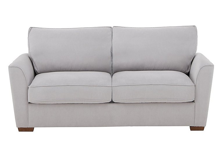The Weekender Fable 3 Seater Deluxe Fabric Sofa Bed in Cosmo Silver Dk on Furniture Village