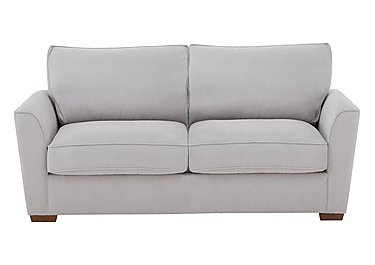The Weekender Fable 3 Seater Fabric Sofa Bed in Cosmo Silver Dk on FV