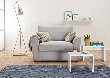 The Weekender Fable Deluxe Fabric Sofa Bed Chair in  on Furniture Village