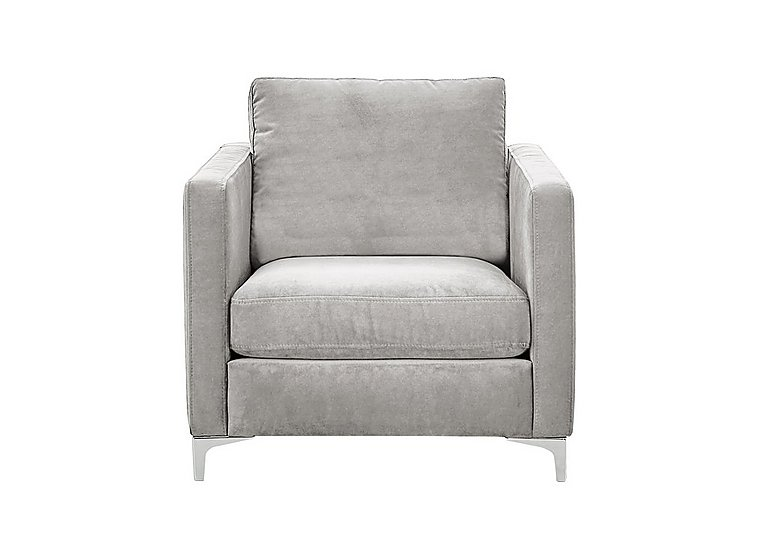 Sofia Fabric Armchair - Only One Left! in 13166-18623 Boda Onyx on Furniture Village