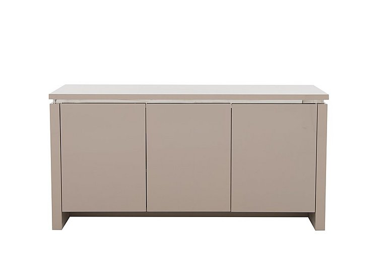 Malibu 3 Door Sideboard in Taupe on FV