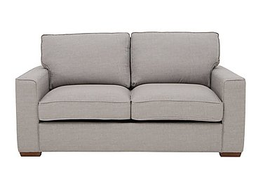 The Weekender Dune 3 Seater Deluxe Fabric Sofa Bed in Barley Silver Dk on Furniture Village
