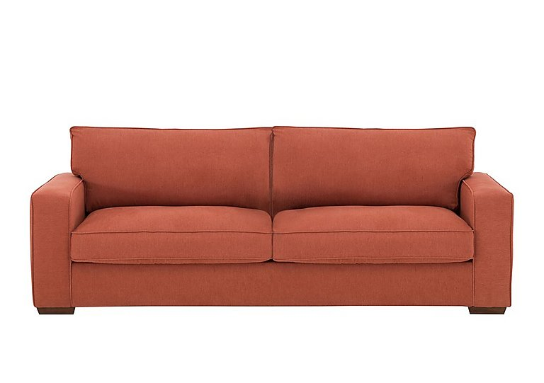 The Weekender Dune 3 Seater Fabric Sofa Bed in Cosmo Spice Dk on FV