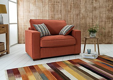 The Weekender Dune Fabric Sofa Bed Chair in  on Furniture Village