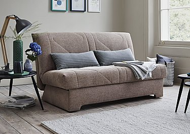 Aztec 2 Seater Fabric Sofa Bed in  on FV
