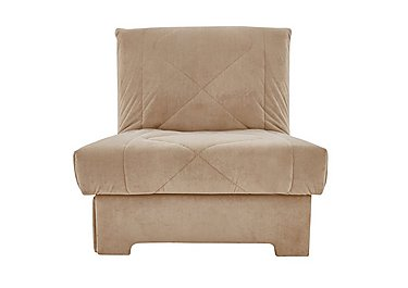 Aztec Fabric Sofa Bed Chair in A298 on FV