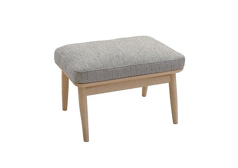 Marino Fabric Footstool in E632 on Furniture Village