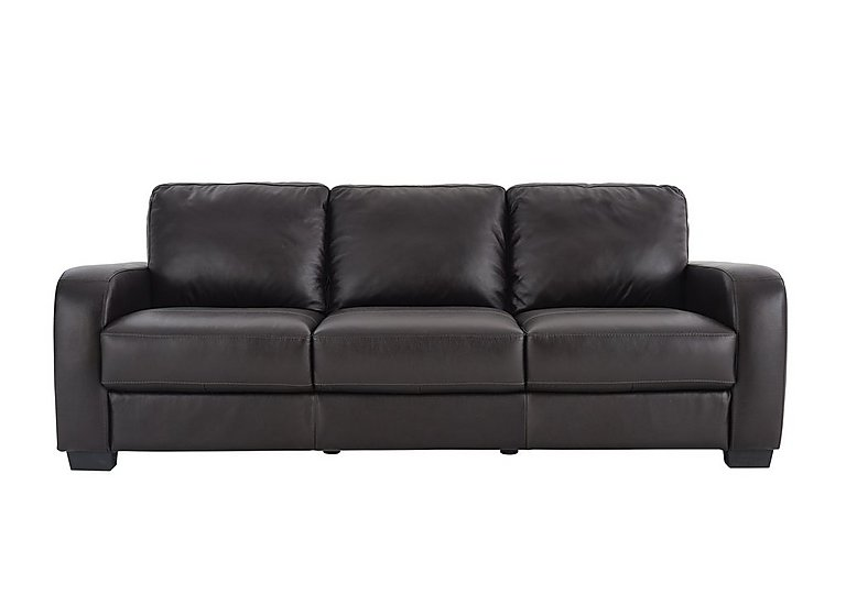 Astor 3 Seater Leather Sofa - Only One Left!