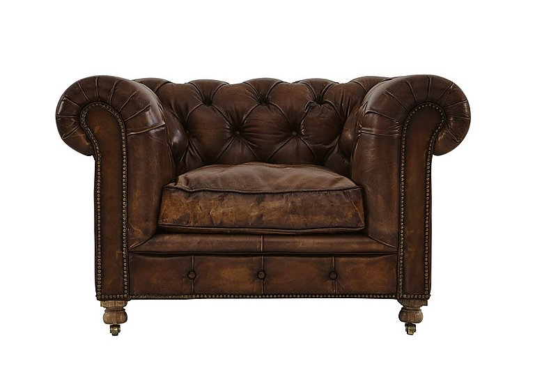 Kingston Mews Leather Armchair - Only One Left!