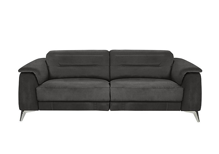 Sanza 3 Seater Fabric Recliner Sofa