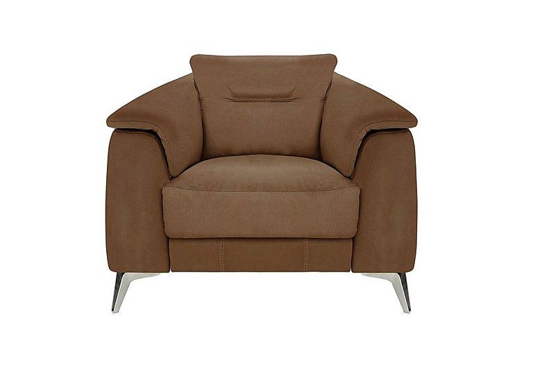Sanza Fabric Recliner Armchair