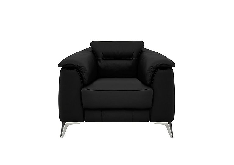 Sanza Leather Power Recliner Armchair with Power Headrest