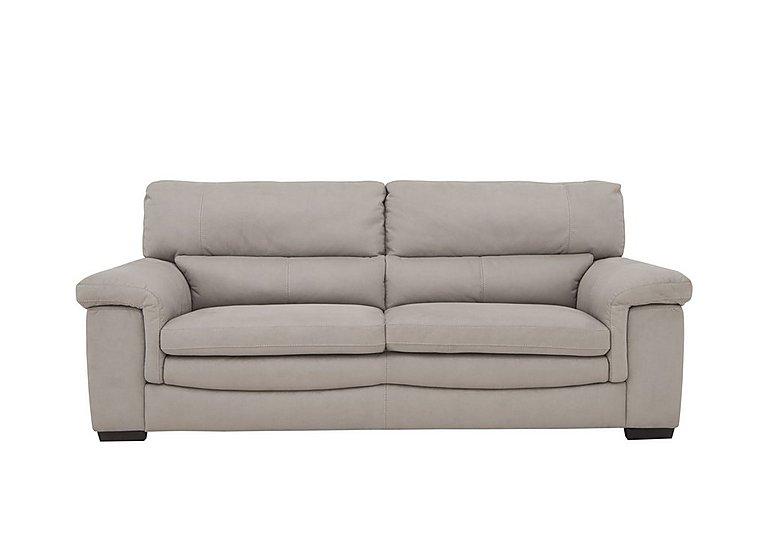 Georgia 3 Seater Fabric Sofa in Bfa-Blj-22 Dove Grey on Furniture Village
