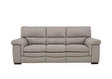 Georgia 3 Seater Fabric Sofa in Bfa-Blj-22 Dove Grey on FV