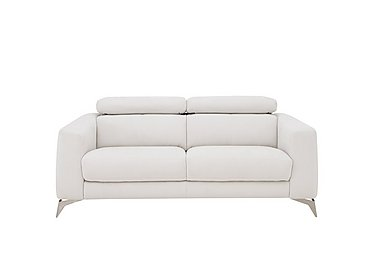 Flavio 2 Seater Fabric Sofa in Bfa-Mad-R06 Bisque on FV