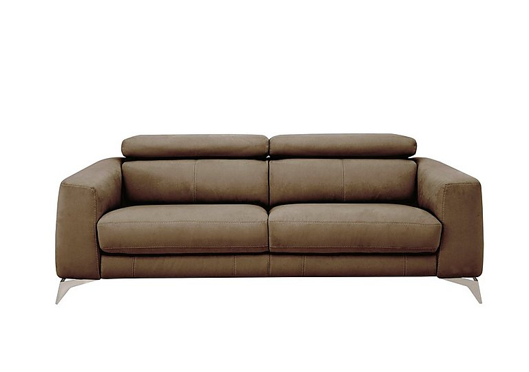 Flavio 3 Seater Fabric Sofa